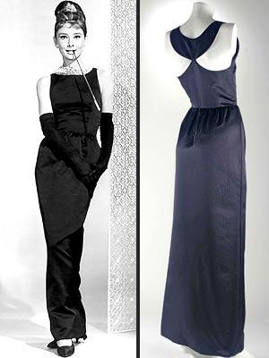 Малка черна рокля, носена от Одри Хепбърн, по модел на Givenchy от 1961 г.