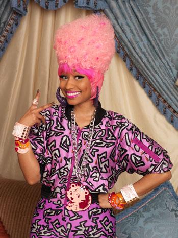 Ники Минаж на промоцията на първия си албум Pink Friday