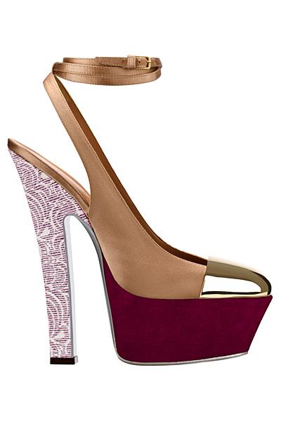 Yves Saint Laurent високи обувки на платформа