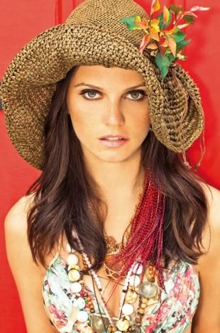 Плетена шапка Morena Rosa 2012