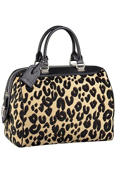леопардова чанта на Louis Vuitton 2012