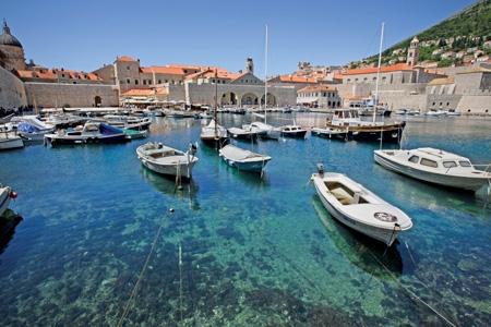 Пристанище в Дубровник