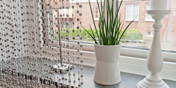 Малък и свеж апартамент - декорация с растения