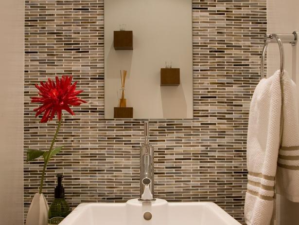Семпъл дизайн за баня в бежовата гама