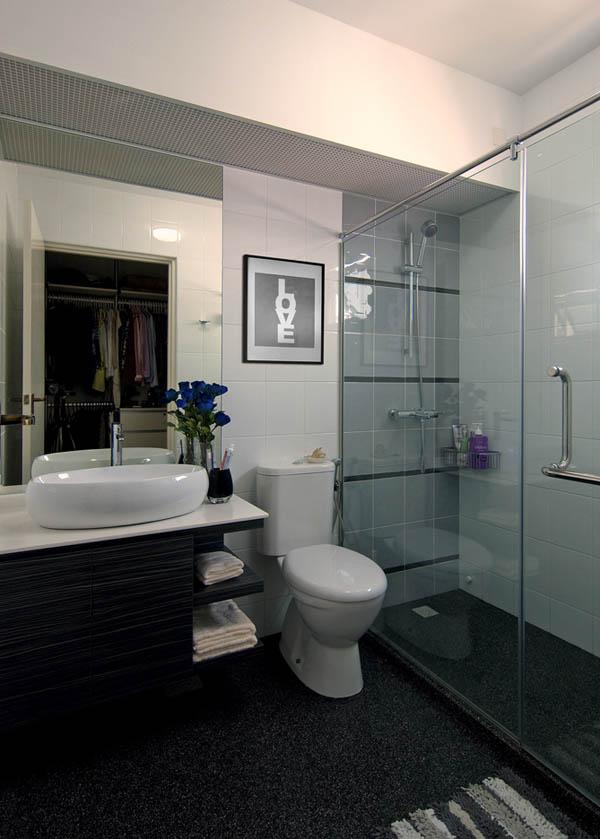 Апартаментът на една жена баня