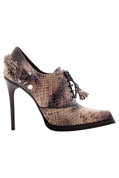 обувки на Roberto Cavalli зима 2012