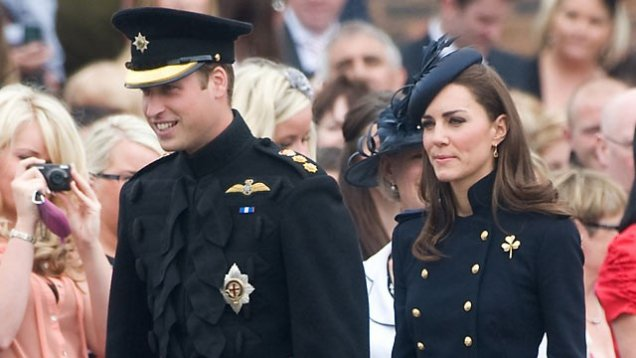 Кейт и Уилям на посещение в Северна Америка
