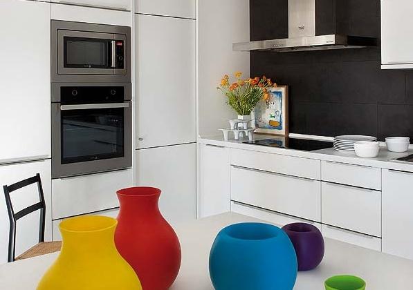 симпатичен дизайн на апартамент в Мадрид