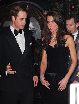 Кейт и Уилям в новогодишната нощ