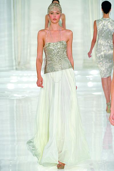 Ralph Lauren рокля 2 части с тюрбан