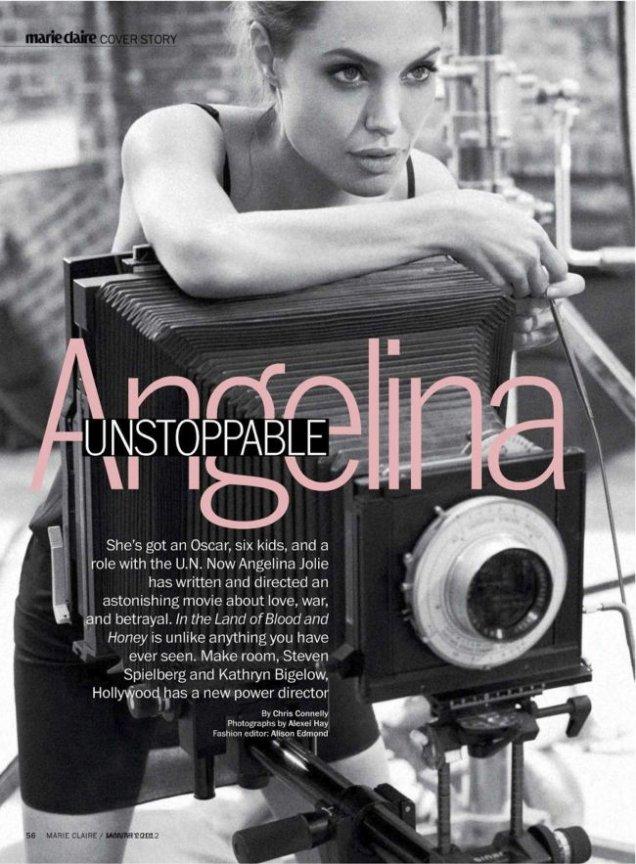 Анджелина направи и режисьорския си дебют през 2012 със
