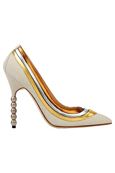 Мanolo Вlahnik елегатни бели обувки с кант