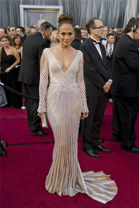 Дженифър Лопез на Оскари 2012