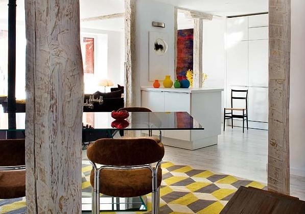 обновен дизайн на апартамент в Мадрид