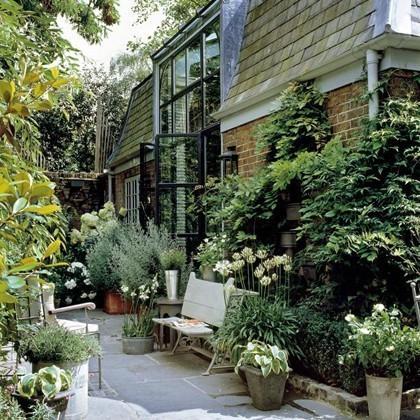 Градина в задния двор