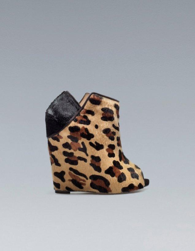 тигрови обувки на Zara за 2012