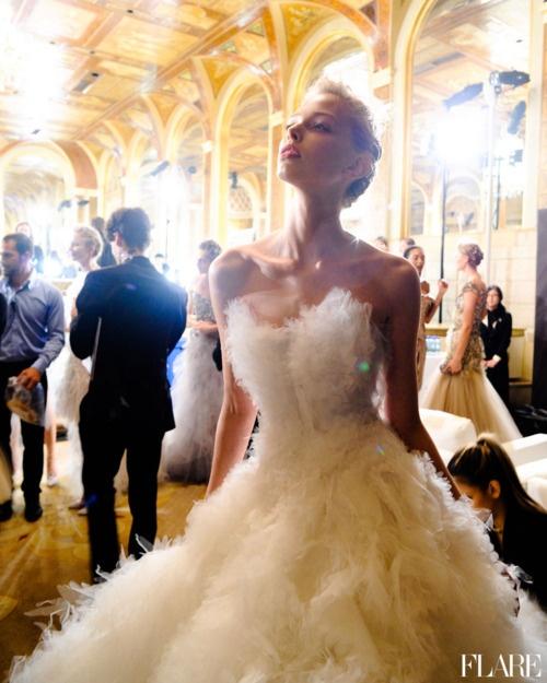 Булчинска рокля MArchesa Есен 2012