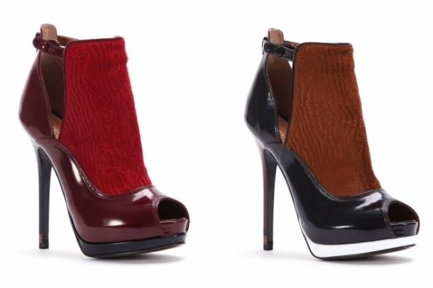 колекция обувки на Fendi за 2012