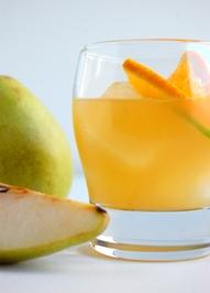 Сладко изкушение от портокал, джинджифил, круша и бърбън