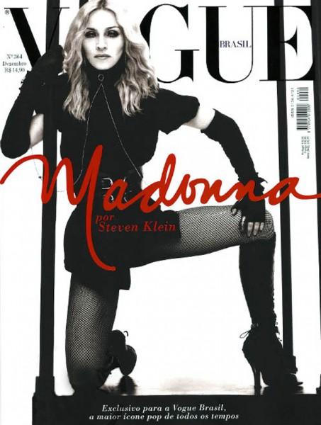 Мадона на корицата на Vogue Бразилия през 2008
