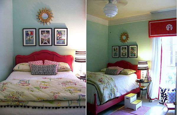 Розово легло за детска стая