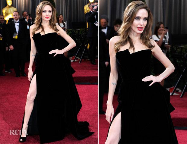 Анджелина на Оскари 2012