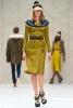 Жълт тренчкоут с ефектен колан Пролет-Лято 2012 Burberry