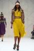 Ефирна лимонено жълта рокля Пролет-Лято 2012 Burberry