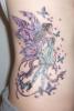 Татуировка на ребрата - фея