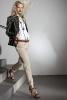 Бежов панталон, светъл топ и сако с много копчета Ваканционна колекция Lanvin 2012