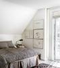Малка спалня със скосен таван