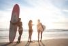 3 съвременни русалки на брега