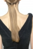 Черна рокля с остро изрязан гръб