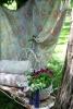 Пейка ковано желязо в двора