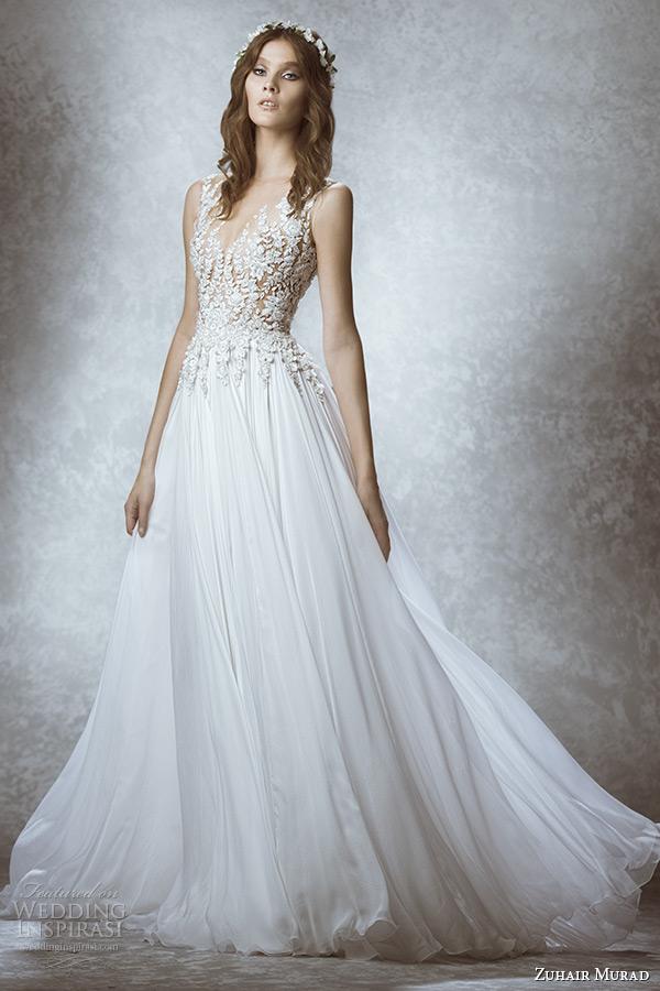 Елегантна сватбена рокля 2015