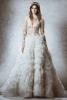 Пищна сватбена рокля
