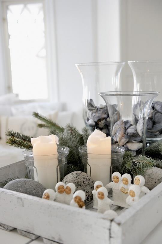 Коледна табла с декорации 2014
