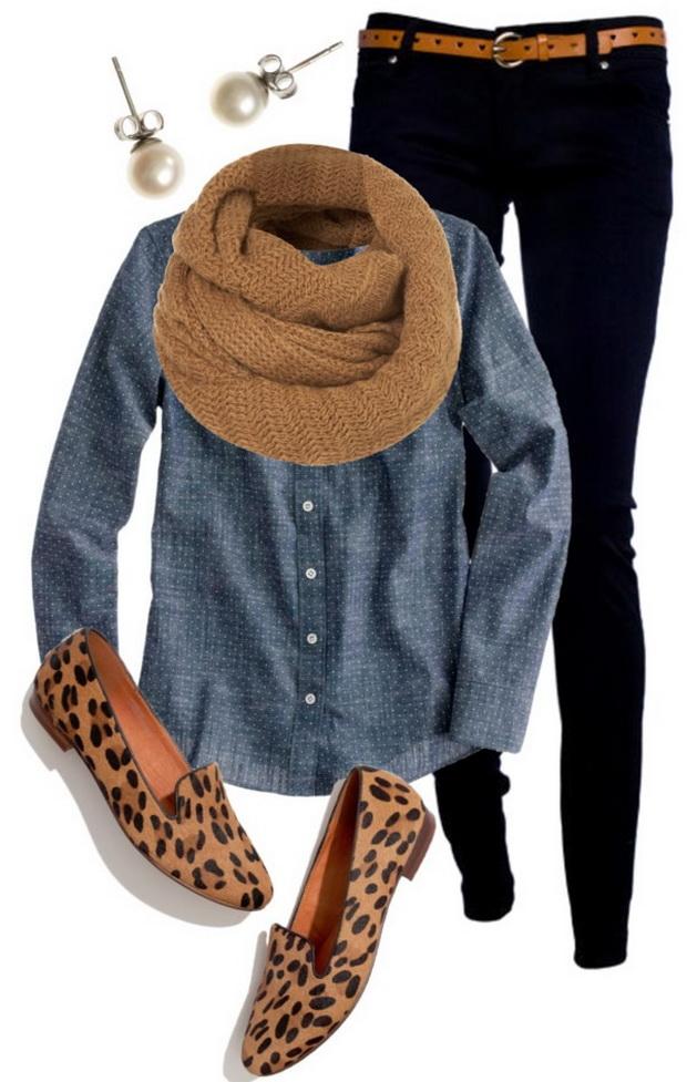 Дънки и дънкова риза за тази зима