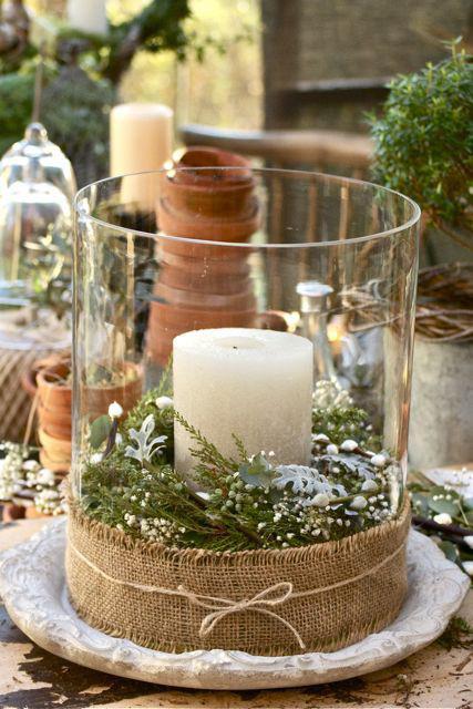 Коледна свещ 2014