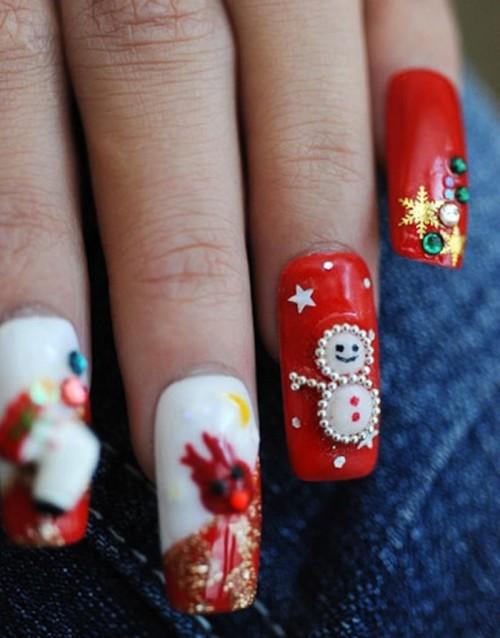Красиви коледни нокти