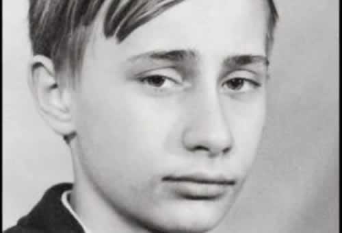 Путин като ученик