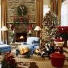Коледна украса за камина