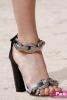 Шик сандали със сатен и камъни пролет 2015