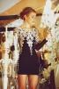 Елегантна рокля с дълъг ръкав