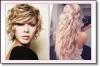 Прически за чуплива коса за 2015