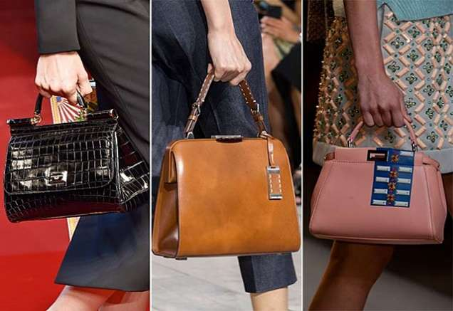 Чанти от кожа или лак за 2015