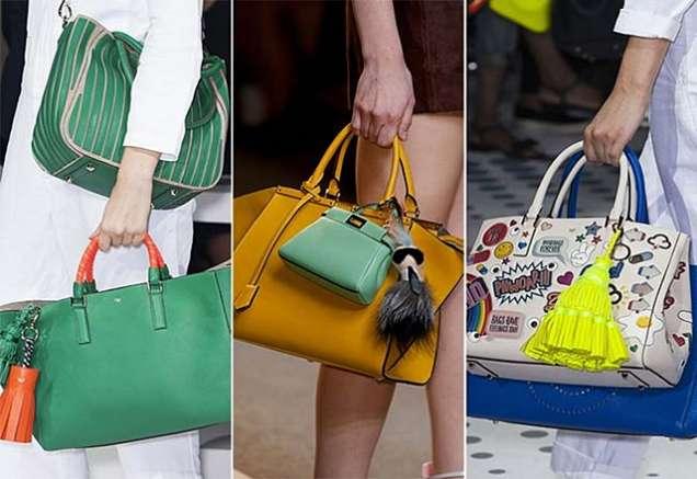 Цветни чанти за пролет 2015