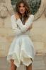 Асиметрична бяла пола пролет 2015