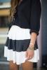 Къса пола в черно и бяло 2015