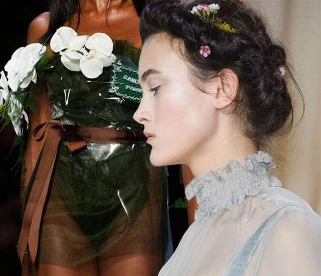 Естествени цветя в модата за пролет 2015